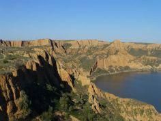 Barrancas de Burujón, entorno natural que se ha hecho famoso tras un anuncio de Coca Cola