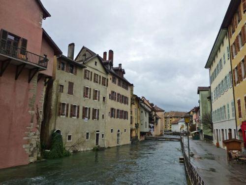 Canales de Annecy, conocida como la Venecia de Saboya