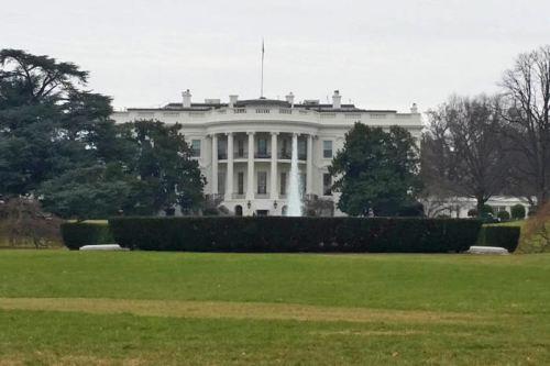 Casa Blanca (White House) en Washington D.C, residencia oficial del presidente de los Estados Unidos