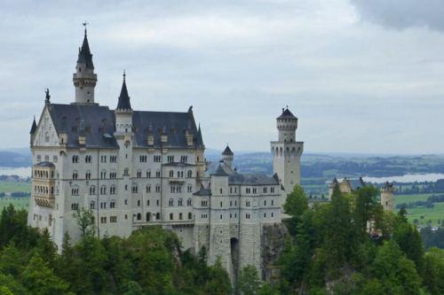 Castillo de Neuschwanstein, la principal atracción turística de Füssen