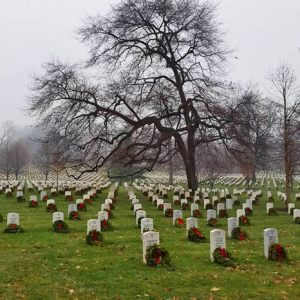 Cementerio Nacional de Arlington, ubicado en los alrededores de la ciudad de Washington