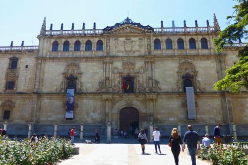Colegio de San Ildefonso, actual Rectorado de la Universidad de Alcalá de Henares