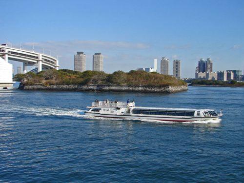 Crucero por el río Sumida, haciendo el trayecto desde Asakusa hasta Odaiba