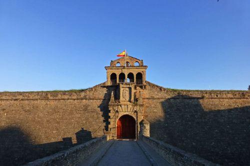 Entrada a la Ciudadela de Jaca o Castillo de San Pedro