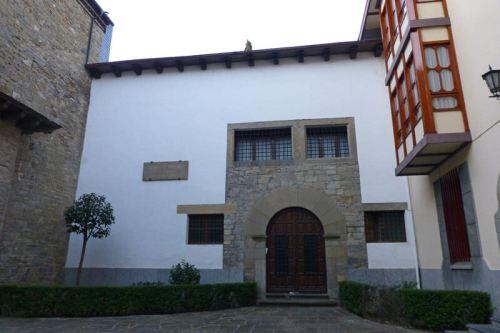 Entrada al Real Monasterio de las Benedictinas de Jaca