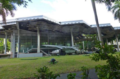 Pabellón Memorial Granma, forma parte del Museo de la Revolución, museos de La Habana