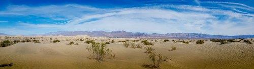 Mesquite Flat Sand Dunes, el mayor campo de dunas del Valle de la Muerte