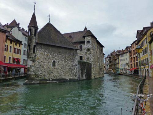 Palacio de la Isla, el monumento más importante de Annecy