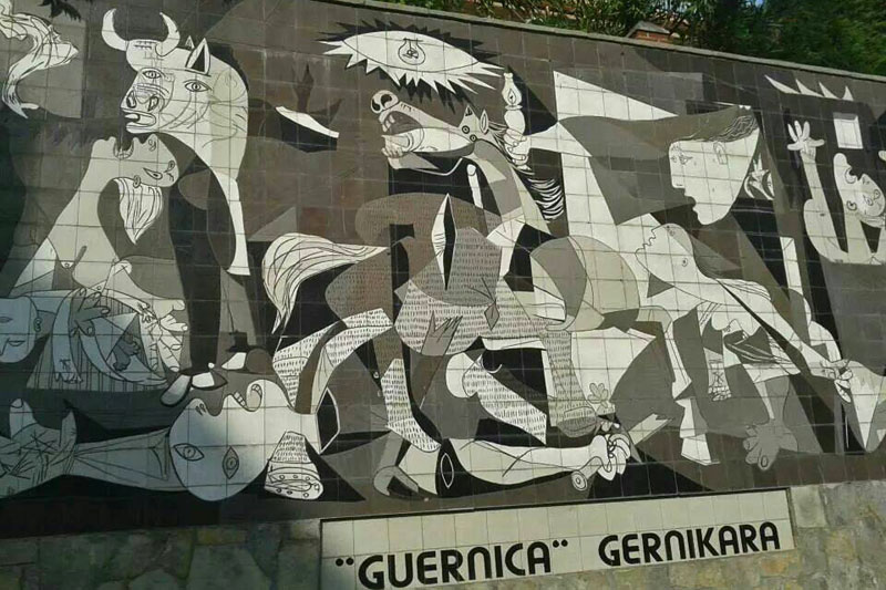 Guernica vizcaya gu a tur stica para que planifiques tu for Mural guernica
