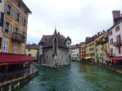 Palacio de la Isla de Annecy, el segundo monumento más visitado de Francia