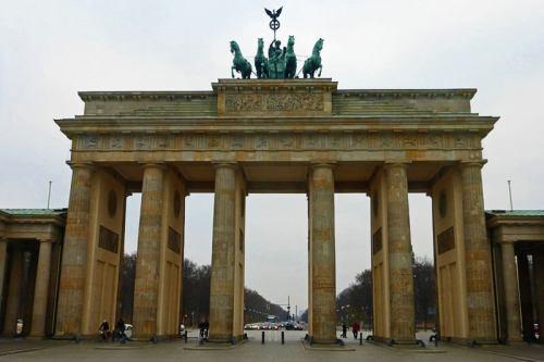 Puerta de Brandeburgo, uno de los símbolos de Berlín