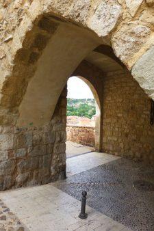 Portal de Daroca, parte de las Murallas de Teruel