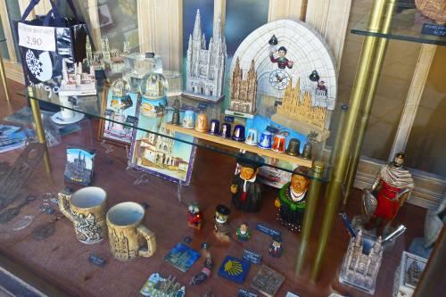 Souvenirs y recuerdos típicos de Burgos