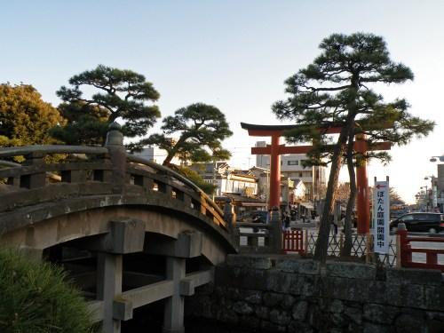 Acceso al Santuario Tsurugaoka Hachimangu de Kamakura