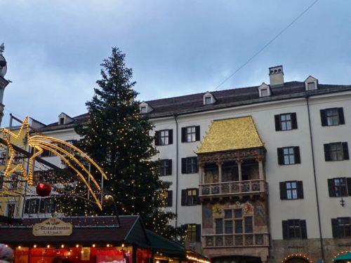 Tejadillo de Oro, el monumento más emblemático de Innsbruck