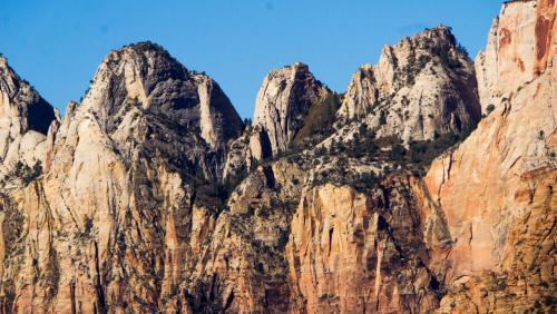 Los Tres Patriarcas (The Three Patriarchs) del Parque Nacional Zion