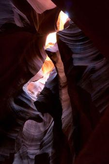 Aberturas de Upper Antelope Canyon