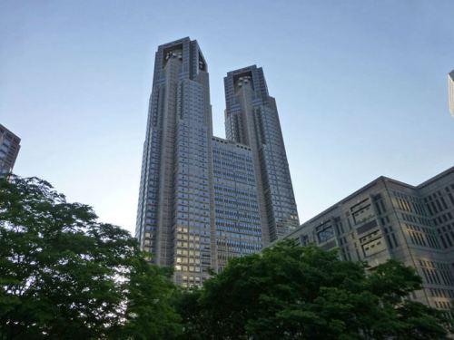 Edificio del Ayuntamiento de Tokio, un mirador gratuito en pleno centro de Shinjuku
