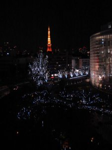Tokyo Tower desde Roppongi