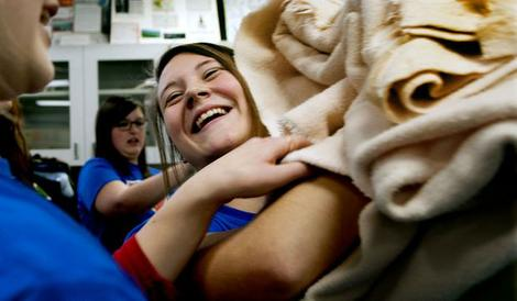 Blanket Drive to Help St. Vincent de Paul and Kootenai County Humane Society. Good News Friday