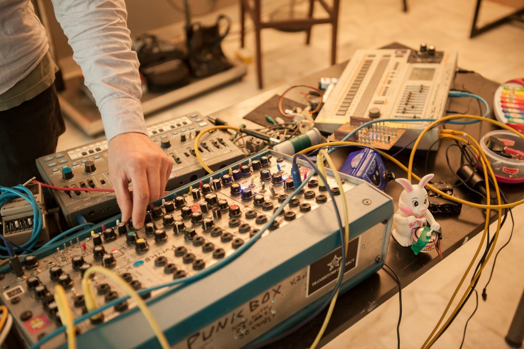Curated Musical Collaboration: Sound Camp at UnBox