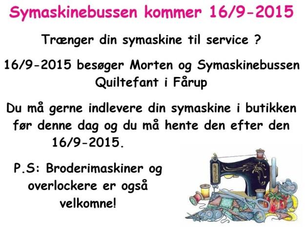Symaskineservice