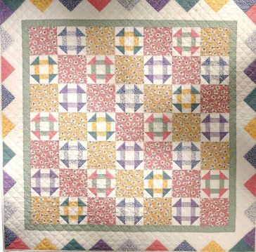 Free Pattern Vintage Churn Dash Quilt Quilting