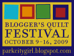 park city girl's Blogger's quilt festival