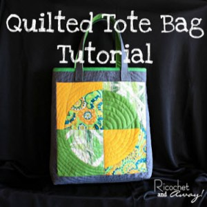 Quilted Tote tute