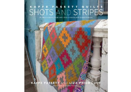 Kaffe Book cover Shots Stripes