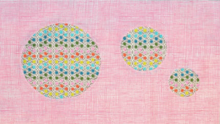Reverse Applique Quilt block Lindsay Sews