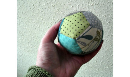 patchwork ball tute