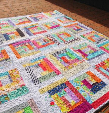 improv quilt by Samelias mum