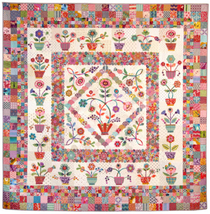 Red Hot Tuesday Quilt Pattern Sue Cody