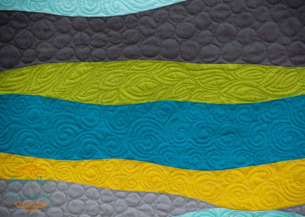 Amy Blue Chair tries new quilting stitches