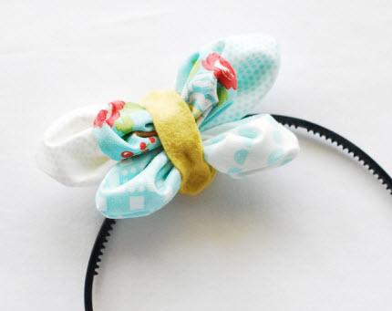 Kansashi Butterfly Headband