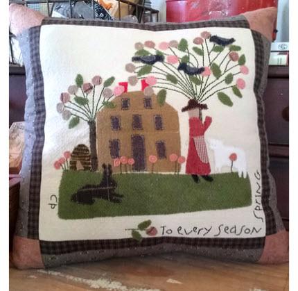Primitive Spring Pillow