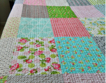Rows quilting