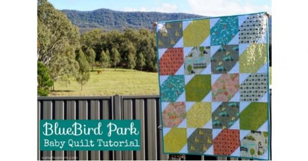 Baby Quilt Tutorial BlueBird Park