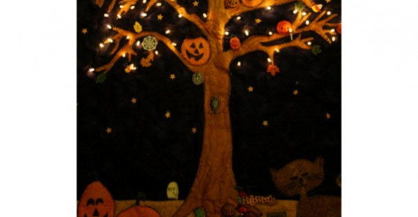 Halloween Quilt Lights