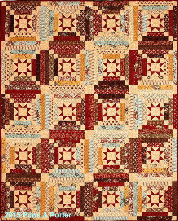 Get A Chance To Win A Quilt Made By Marianne Fons For