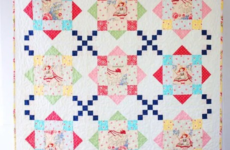 Rooftops Quilt pattern