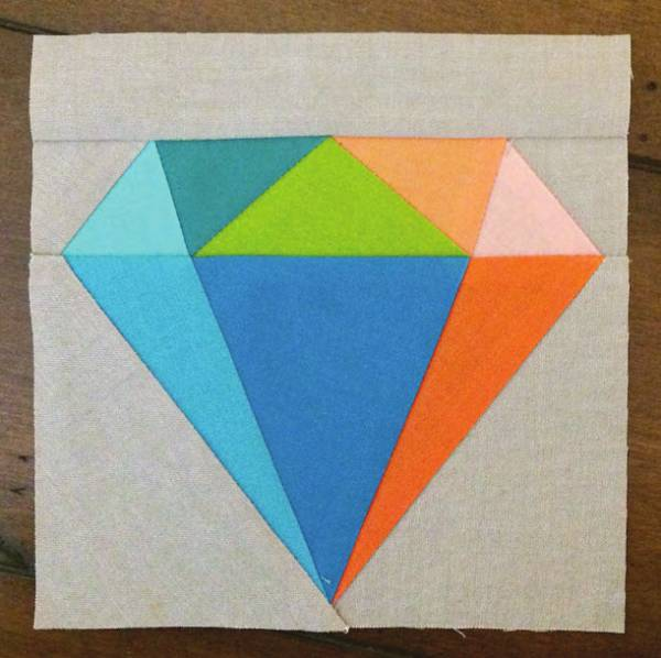 Gemology Quilt Block Pattern_2482