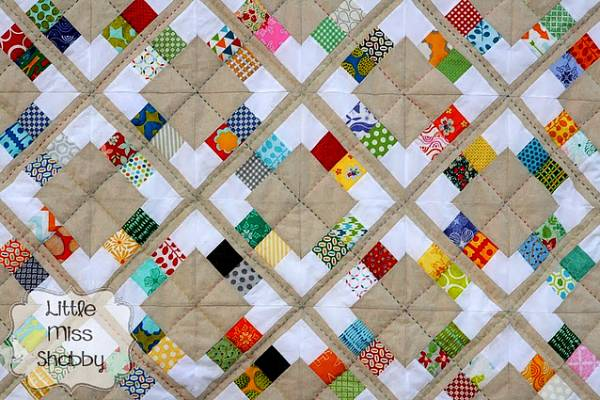 Candy Scrap quilt pattern Corey Yoder