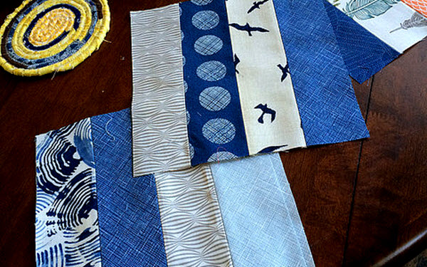 Modern Fence Rail quilt blocks tutorial