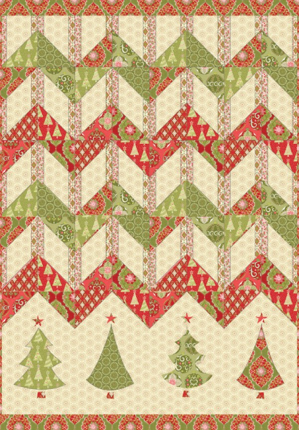 Free Quilt Patterns Christmas Tree : 10 Quilts Inspired by the Christmas Tree Quilting