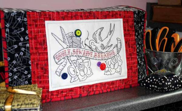 Free Pattern Sewing Machine Cover GenQ