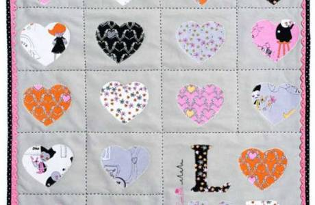 Zombie Love Mini Quilt Pattern + Tute