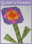 Quilters' Flowers Mini Quilt