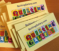 Quilting Gallery Business Cards